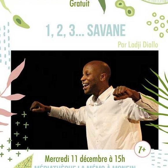 Spectacle : 1, 2, 3... Savane - MONEIN