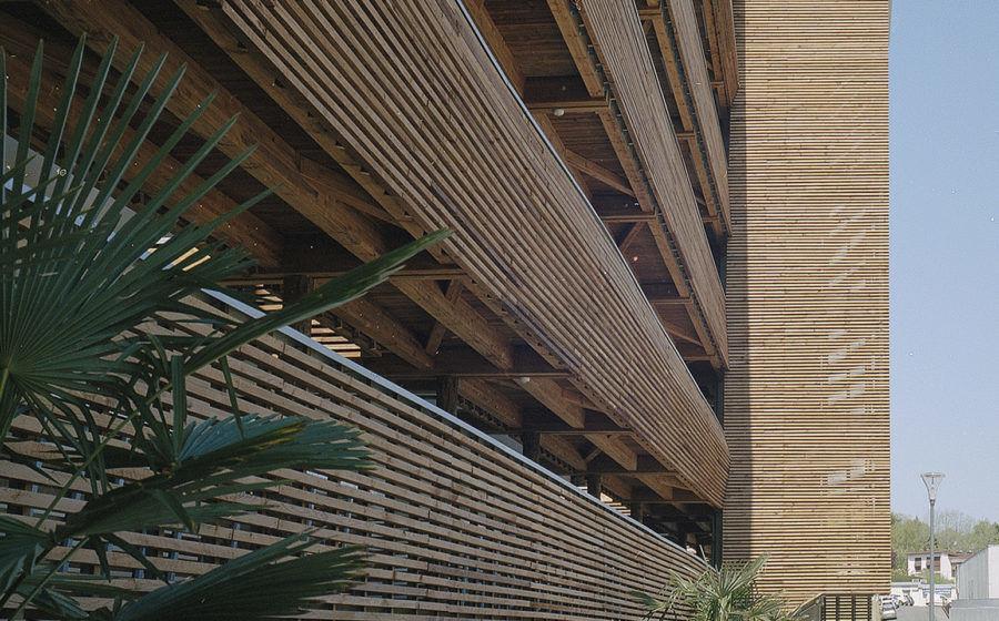 Charte paysagère et bois dans la construction - MOURENX