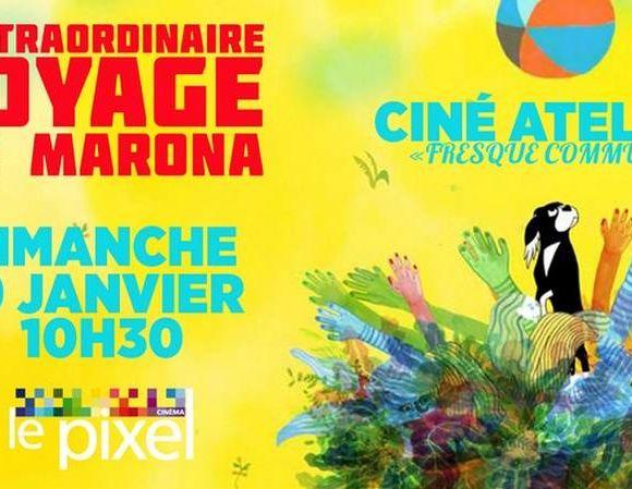Ciné-atelier : l'extraordinaire voyage de Marona - ORTHEZ