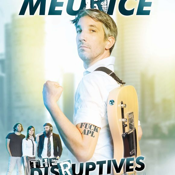 Spectacle : Guillaume Meurice & the Disruptives - ORTHEZ