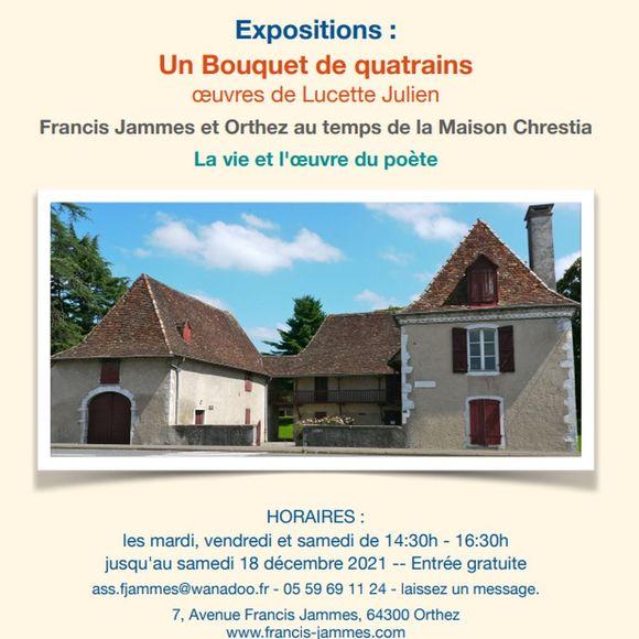 Exposition : La vie et l'oeuvre du poète Francis Jammes - ORTHEZ