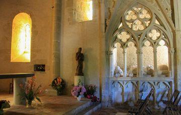 Enfeu de la chapelle de Caubin à Arthez de Béarn