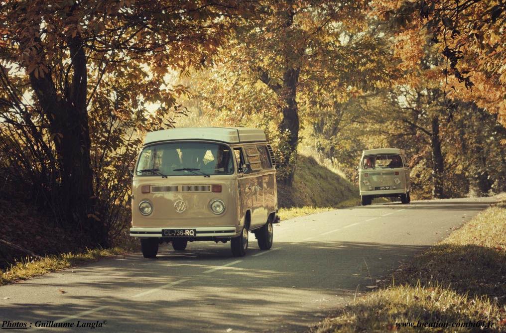 Ici, Là-Bas, Partout - Location de combi-van à Lahourcade
