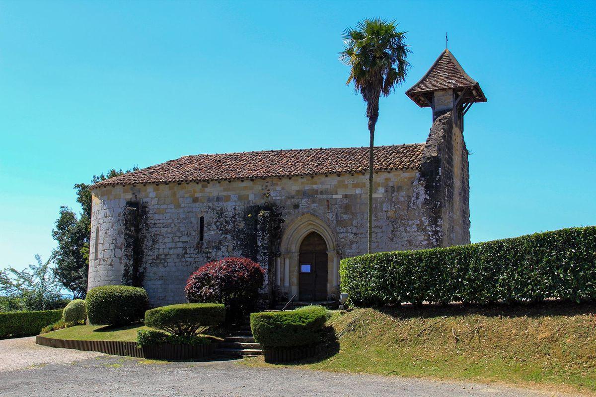 Chapelle de Caubin de style roman à nef unique
