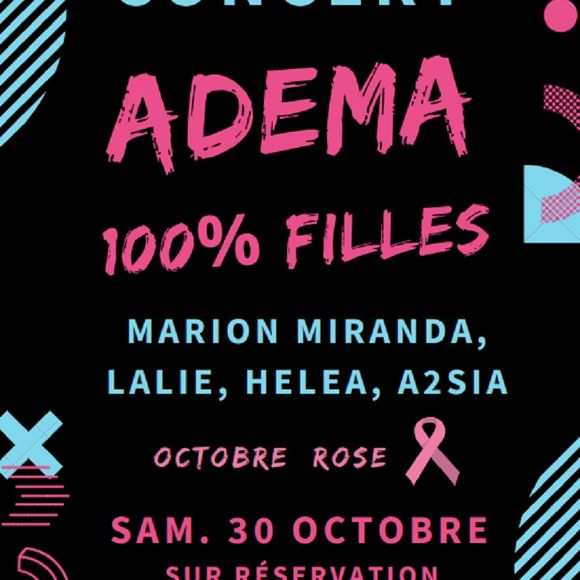 Octobre rose : Concert 100% filles - MOURENX