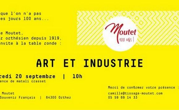 Table ronde : Art et Industrie - ORTHEZ