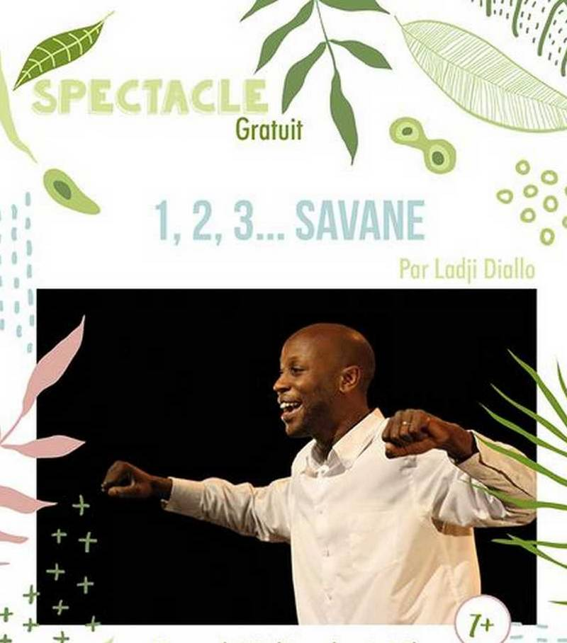 Spectacle : 1,2 3 Savane - MASLACQ