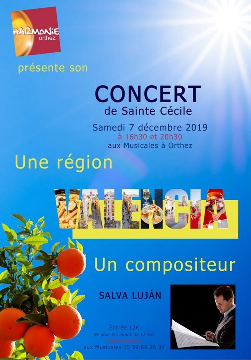 Concert de Ste Cécile - ORTHEZ
