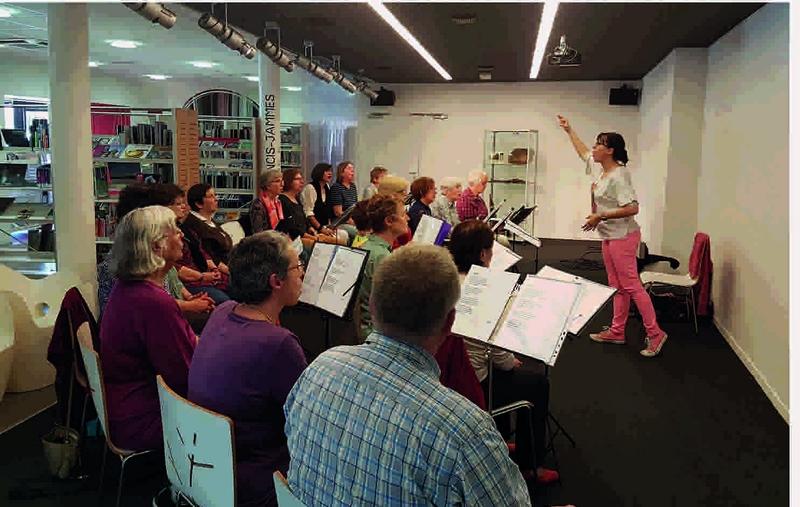 Ateliers de chansons : le bien-être en chantant - ORTHEZ