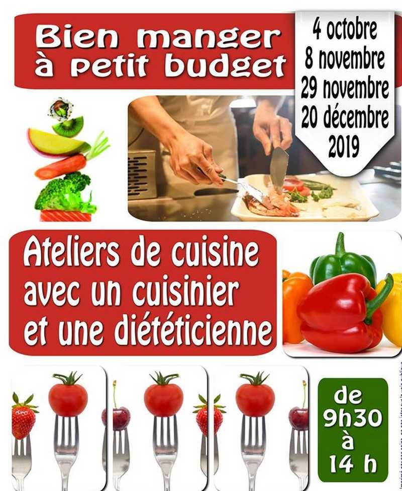 Atelier de cuisine : Bien manger à petit budget - ORTHEZ