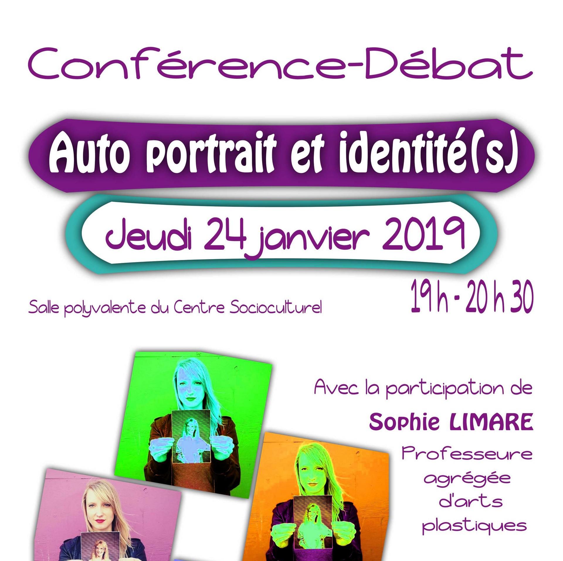 Conférence-Débat : Auto portrait et identité (s) - ORTHEZ