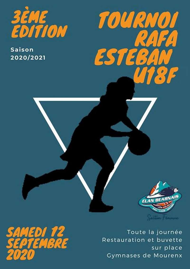 Tournoi de basket Rafa Esteban U18 F - MOURENX