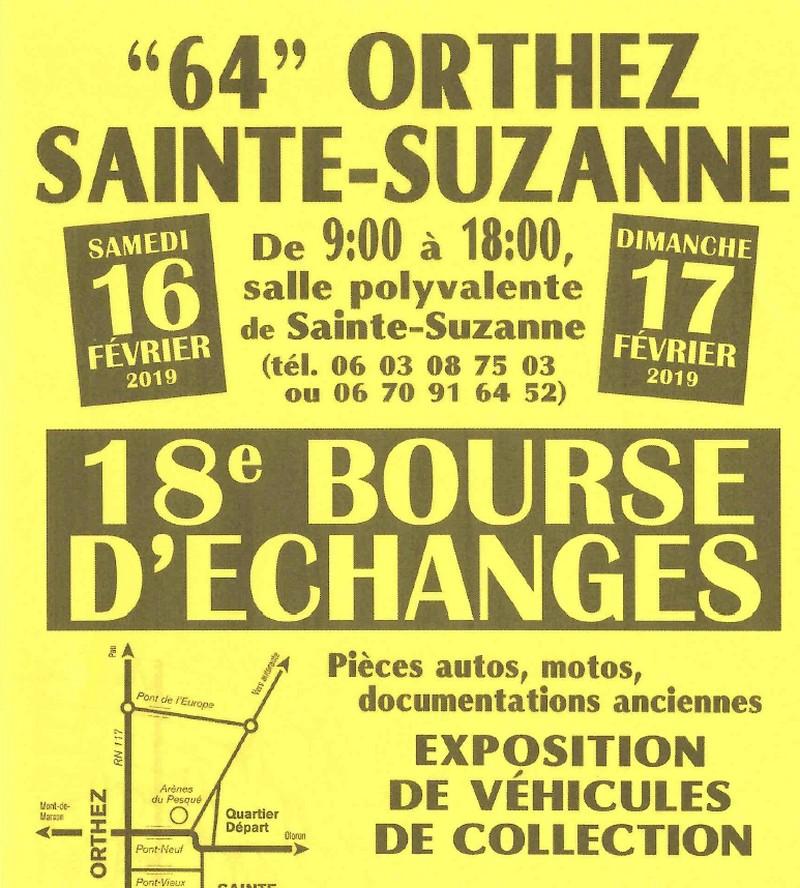 18ème Bourse d'échanges : Exposition de véhicules de collection - ORTHEZ
