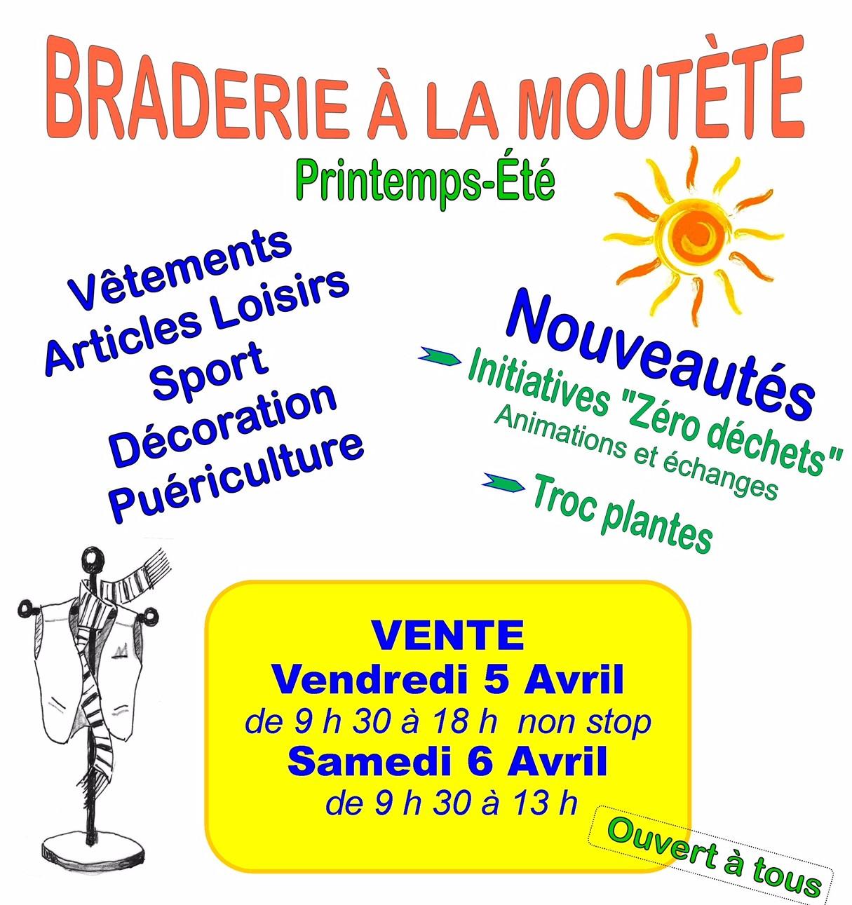 Braderie familiale Printemps/Eté - ORTHEZ