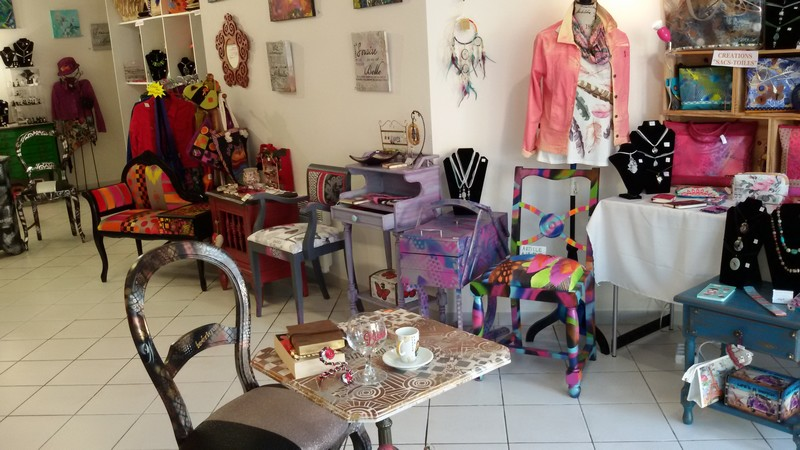 Portes ouvertes : Chantal et ses customisations - MONEIN