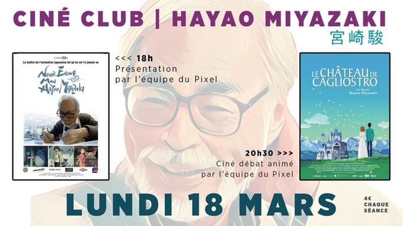 Ciné-Club : Hayao Miyazaki - ORTHEZ