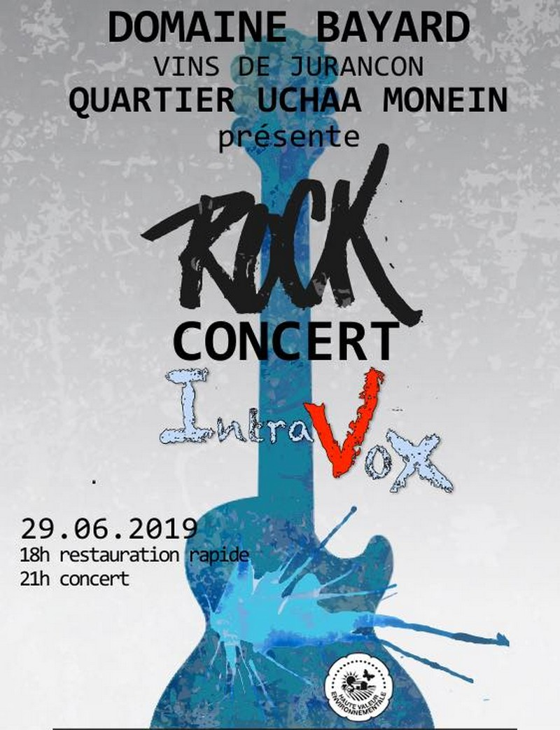 Concert Rock : Intravox - MONEIN