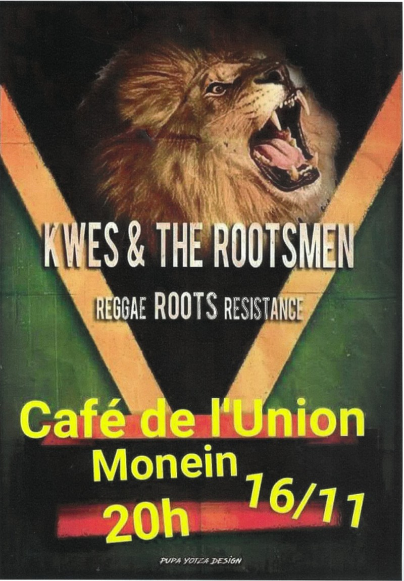 Concert : Kwes and The Rootsmen - MONEIN