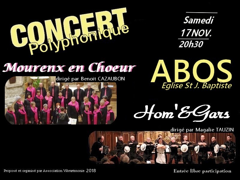 Concert polyphonique - ABOS