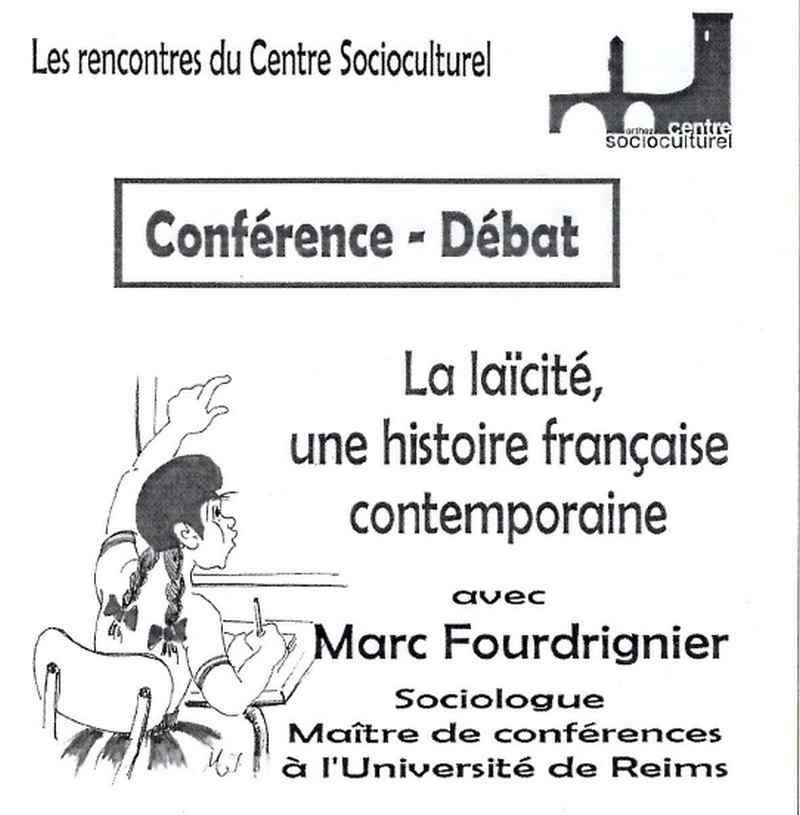 Conférence-Débat - ORTHEZ