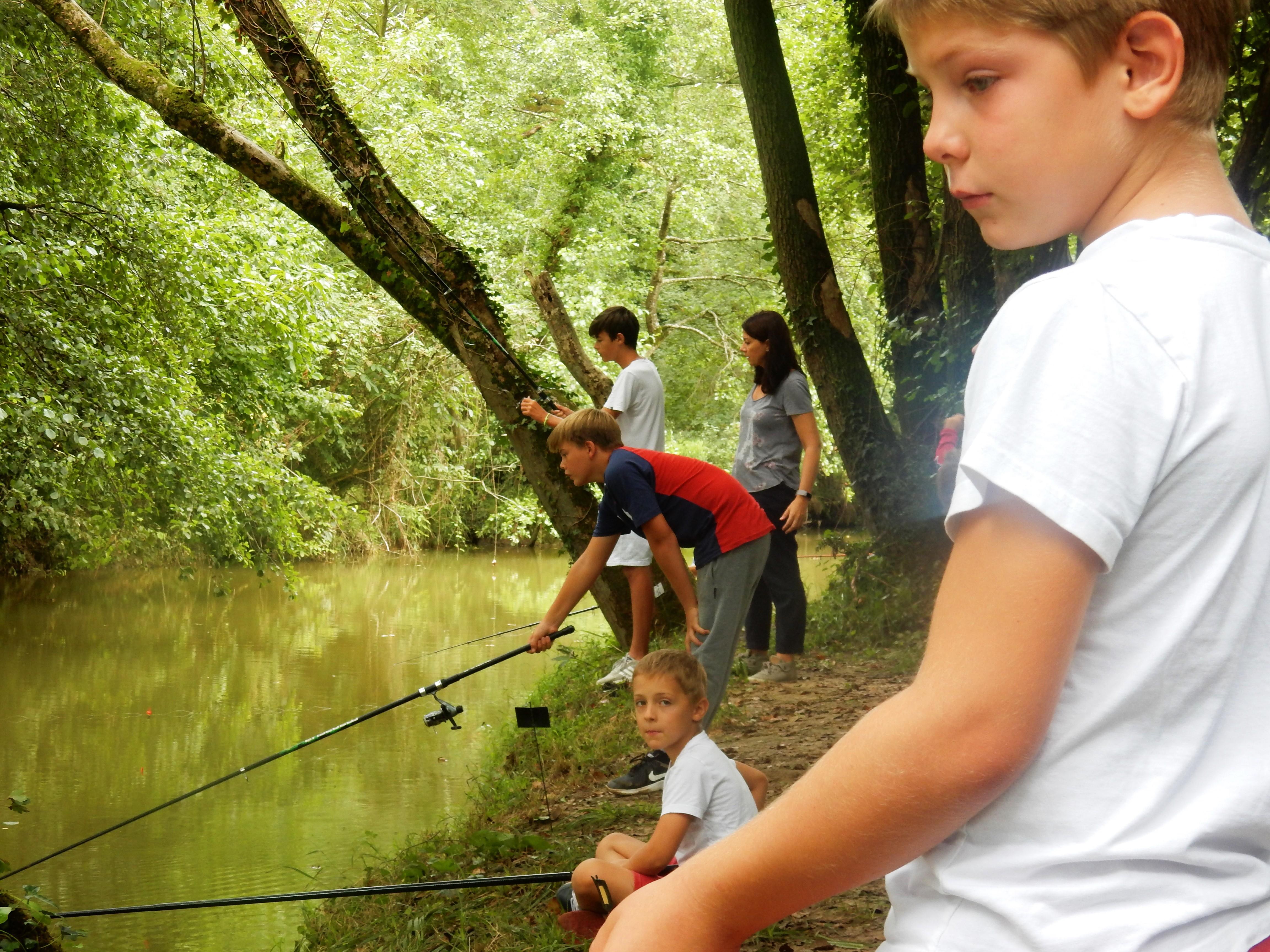 Concours de pêche spécial enfants - ORTHEZ