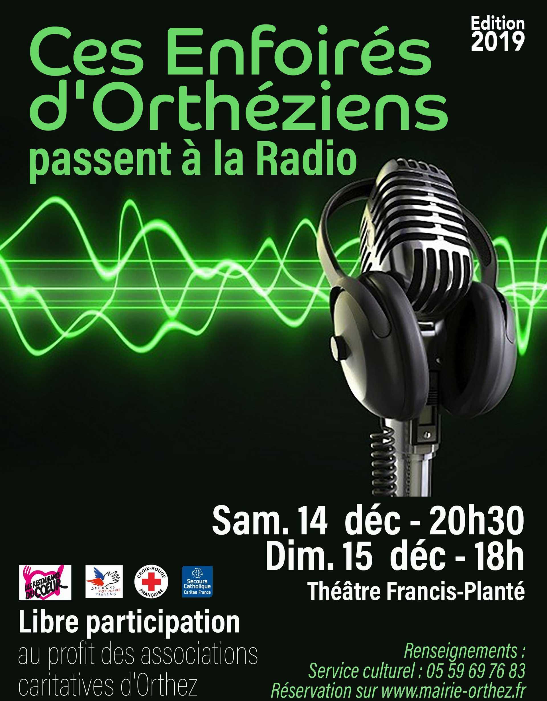 Concert des Enfoirés d'Orthéziens - ORTHEZ