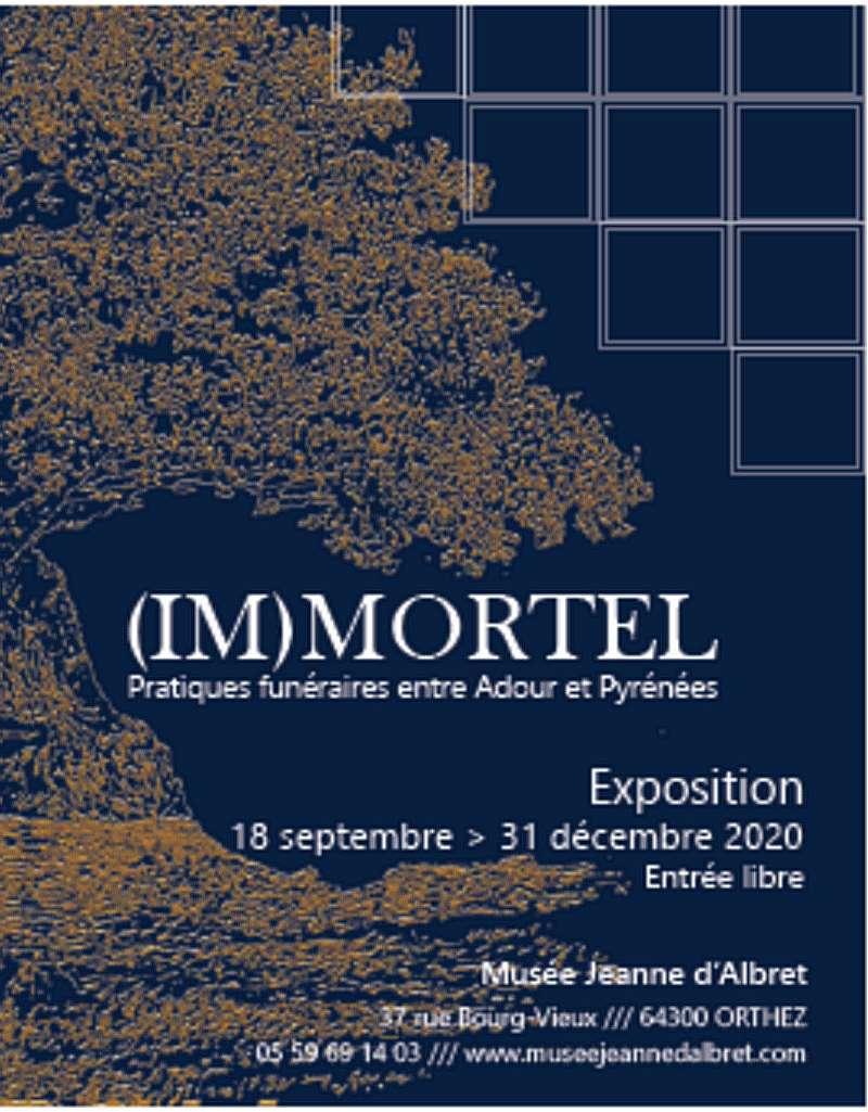Exposition : (Im)mortel, pratiques funéraires entre Adour et Pyrénées - ORTHEZ