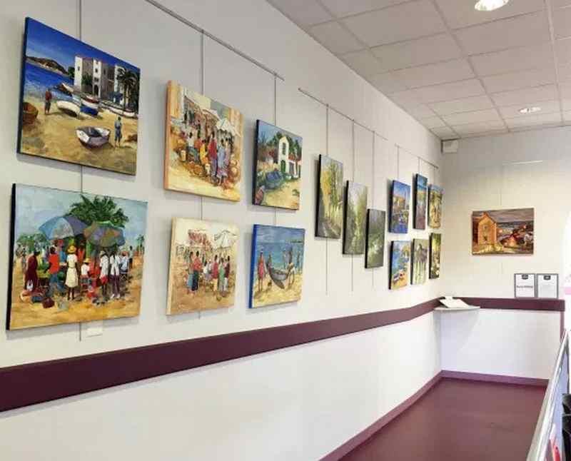 Exposition de peintures : Un bain de couleurs - ORTHEZ
