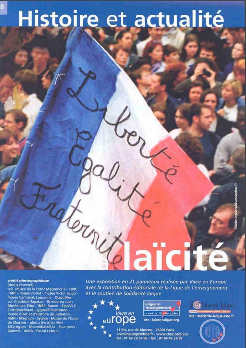 Exposition : Histoire et actualité de la laïcité - MOURENX