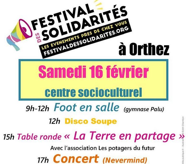 Festival des solidarités - ORTHEZ