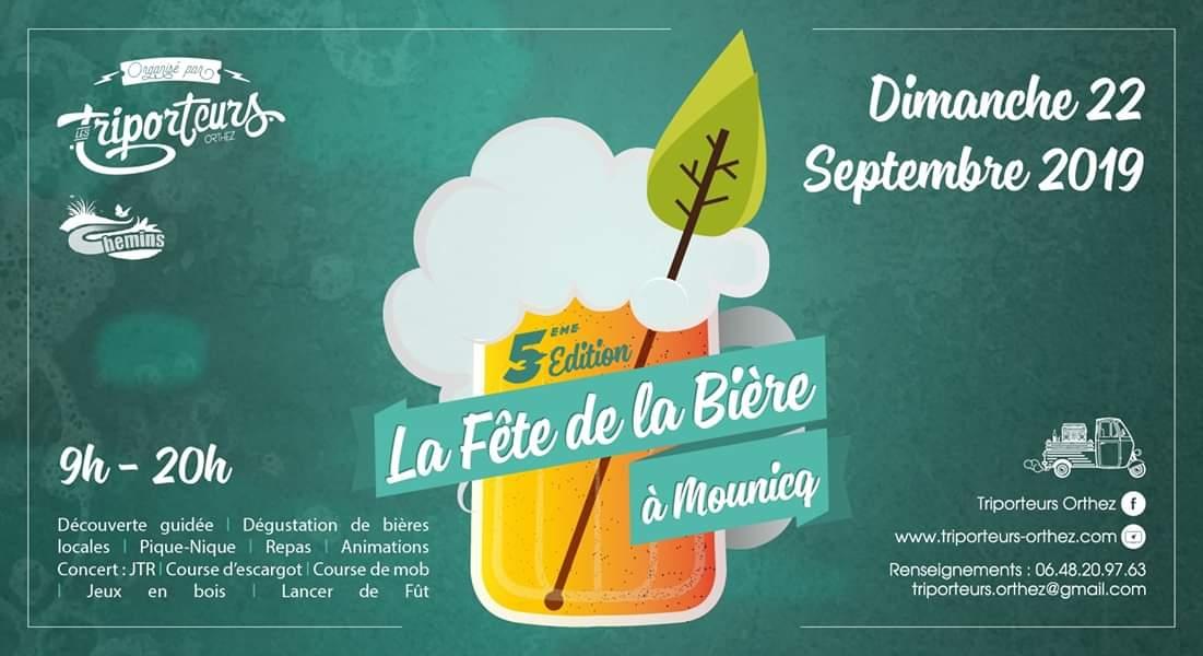 La fête de la Bière à Mounicq - ORTHEZ