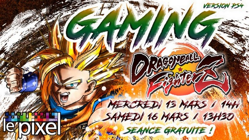 Gaming Dragon Ball fighter Z (Version PS4) - ORTHEZ