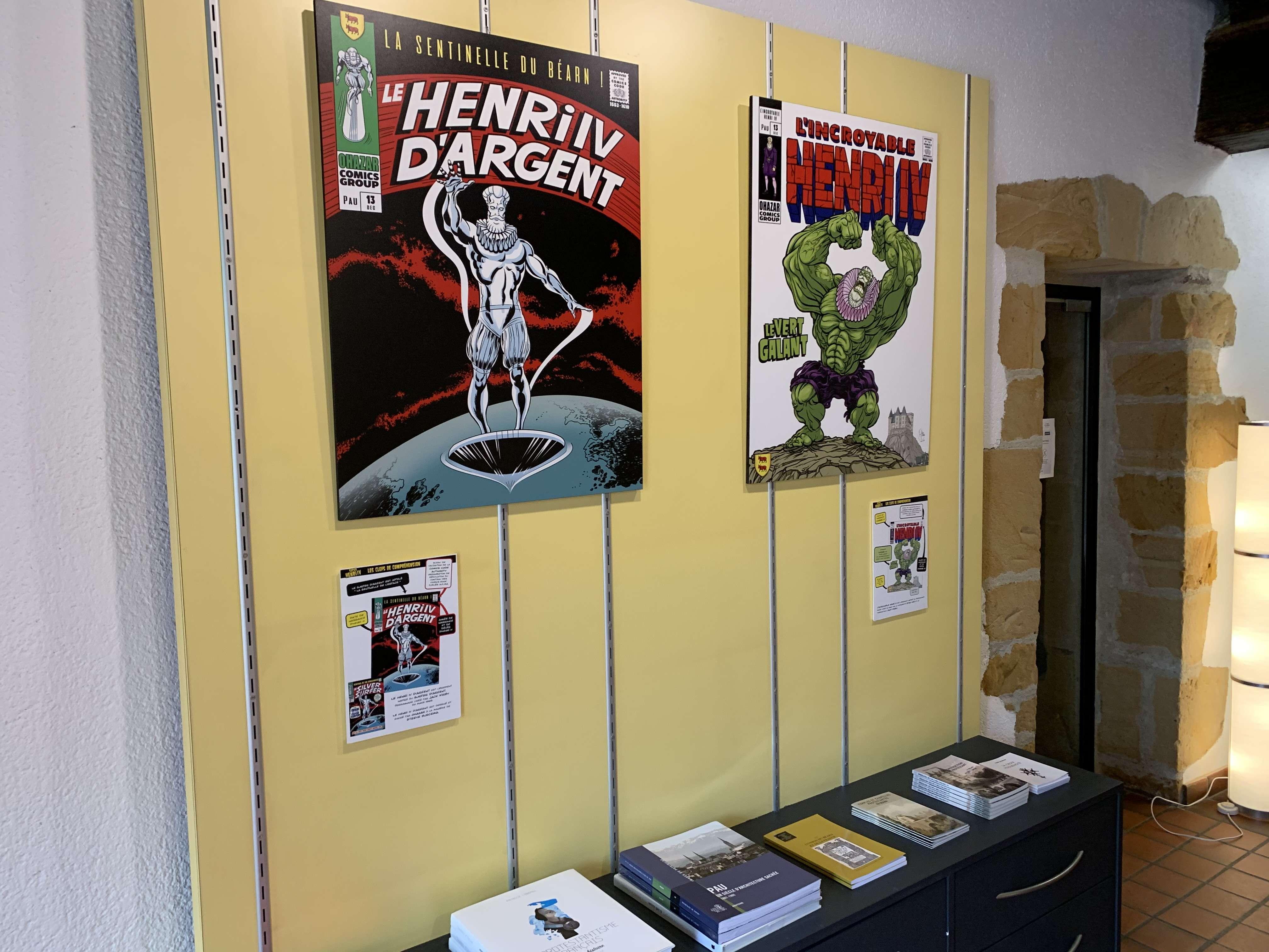 Exposition-vente : Les Super Henri IV - ORTHEZ