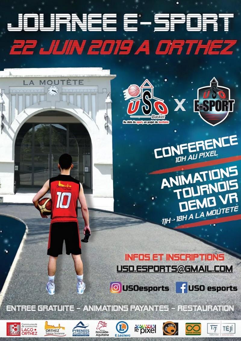 Journée E-Sport - ORTHEZ