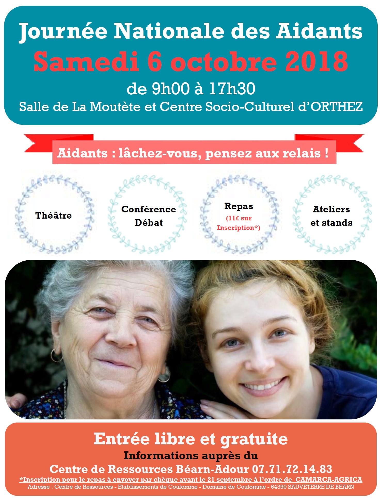 Journée nationale des aidants - ORTHEZ