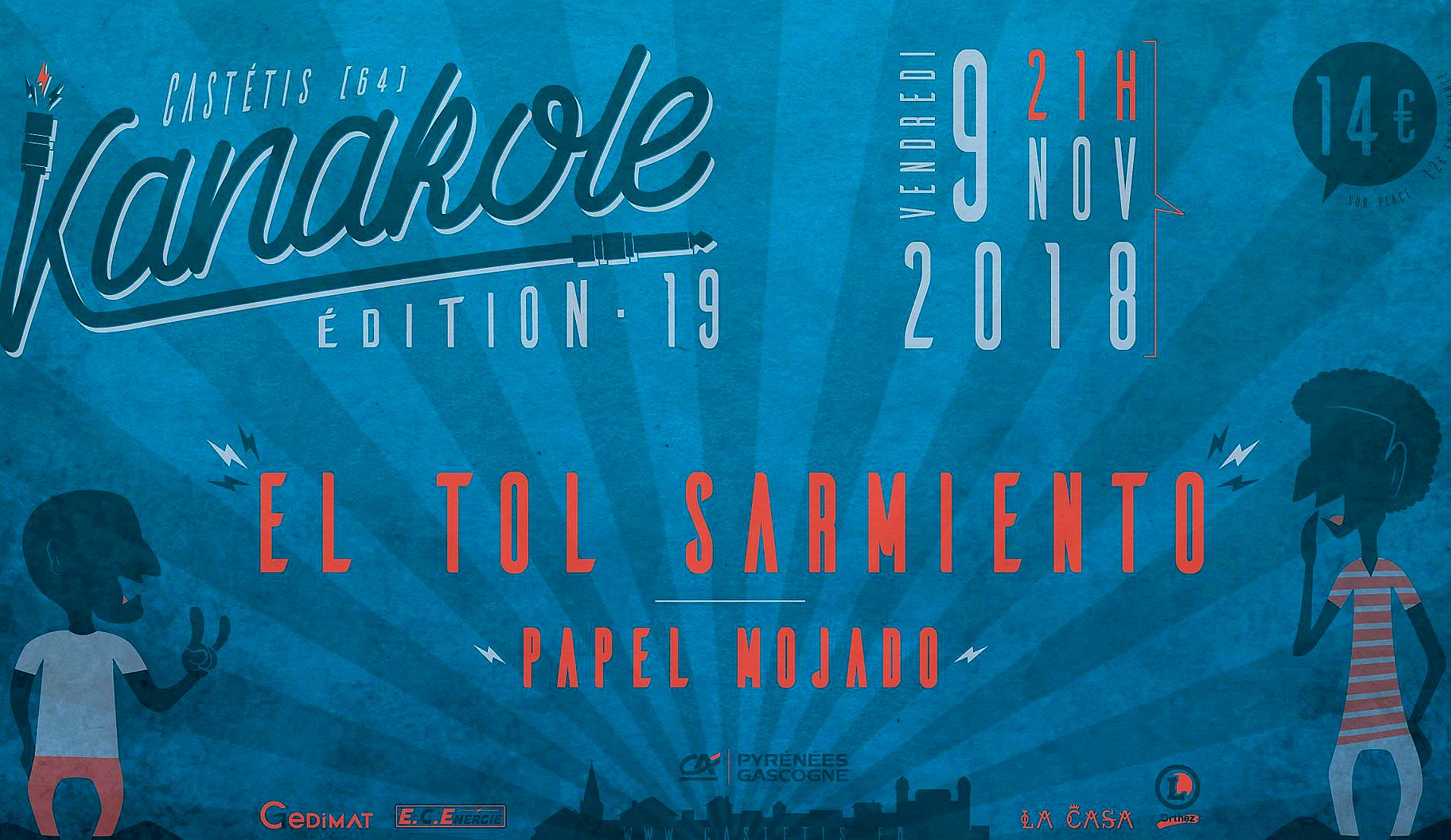 Concert Kanakole - CASTETIS