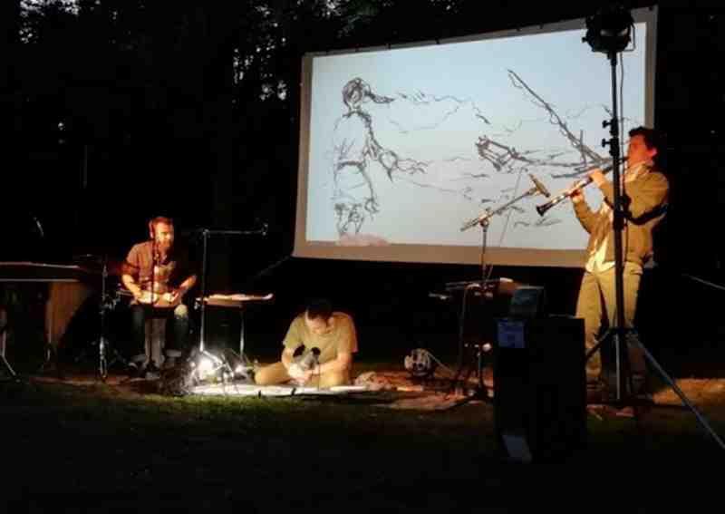 Concert dessiné : Yumi Duo & Seb Brunel / L'Odyssée de Yuna - ORTHEZ