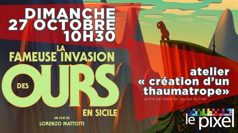 Ciné-atelier : La fameuse invasion des ours en Sicile - ORTHEZ