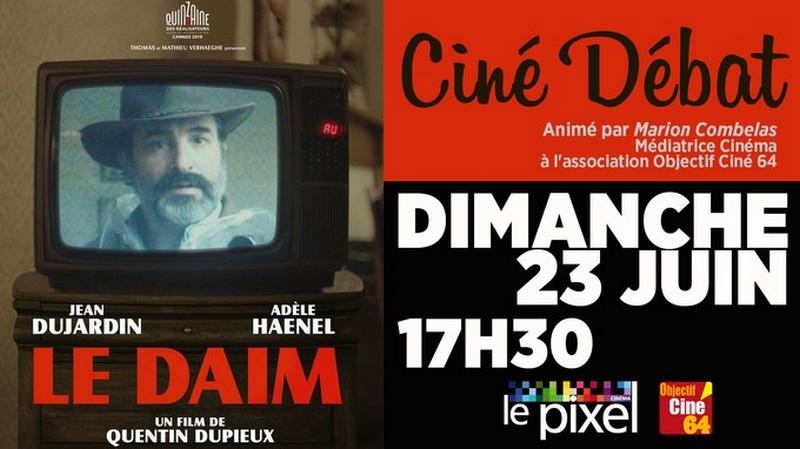 Ciné-débat : Le daim - ORTHEZ