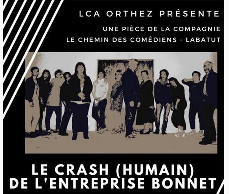 Théâtre : Le crash (humain) de l'entreprise Bonnet - ORTHEZ