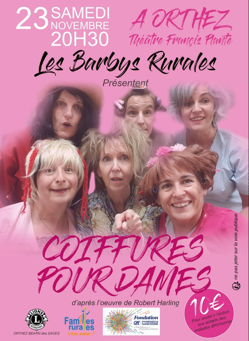 Théâtre : Coiffures pour dames - ORTHEZ
