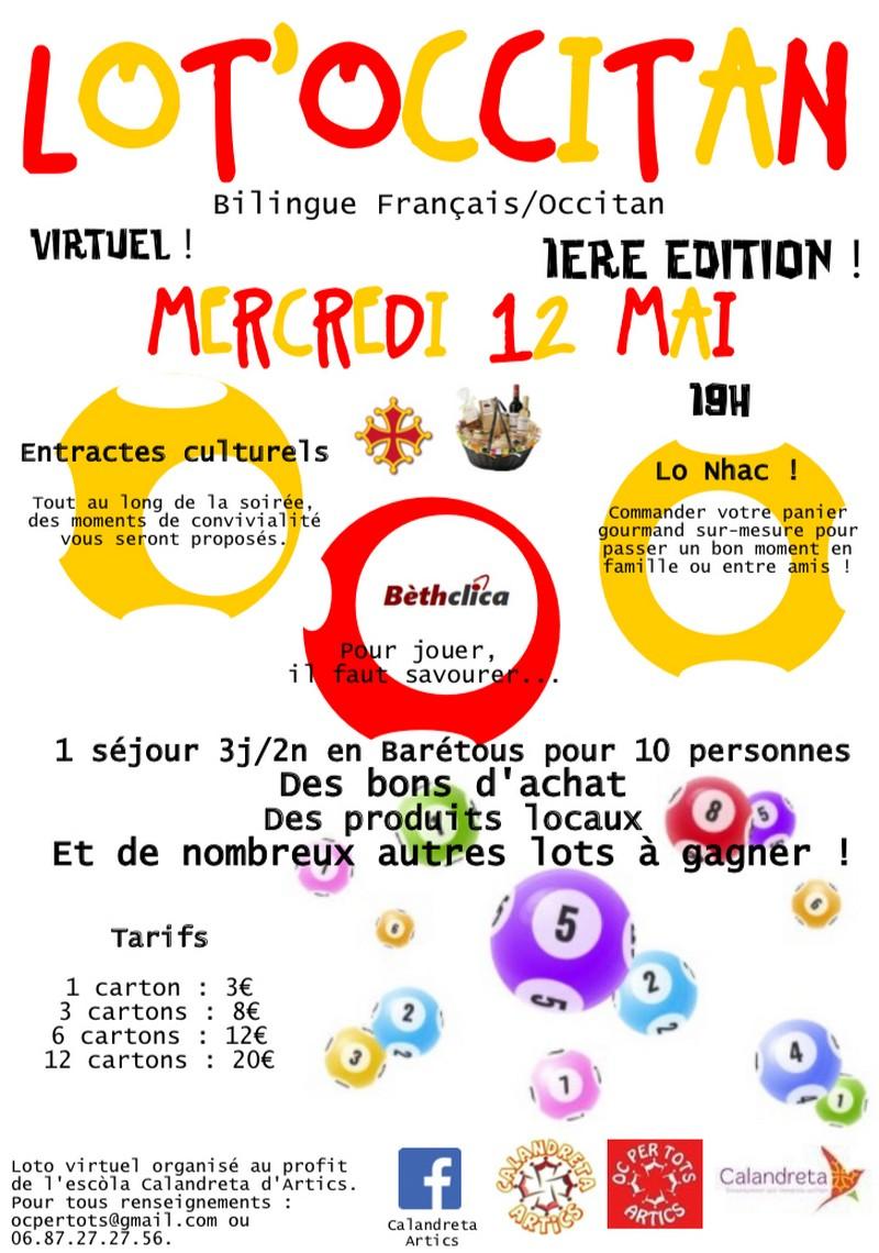 Loto virtuel bilingue français/occitan - ARTIX