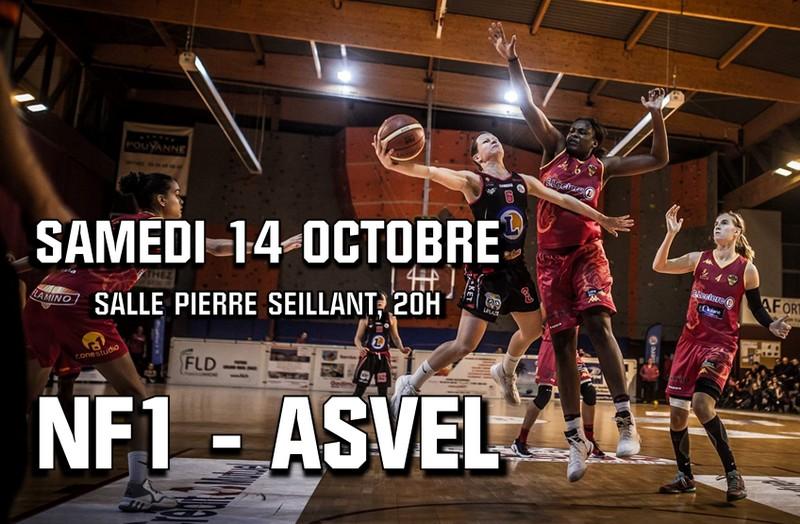 Match Basket : NF1 - Asvel - ORTHEZ