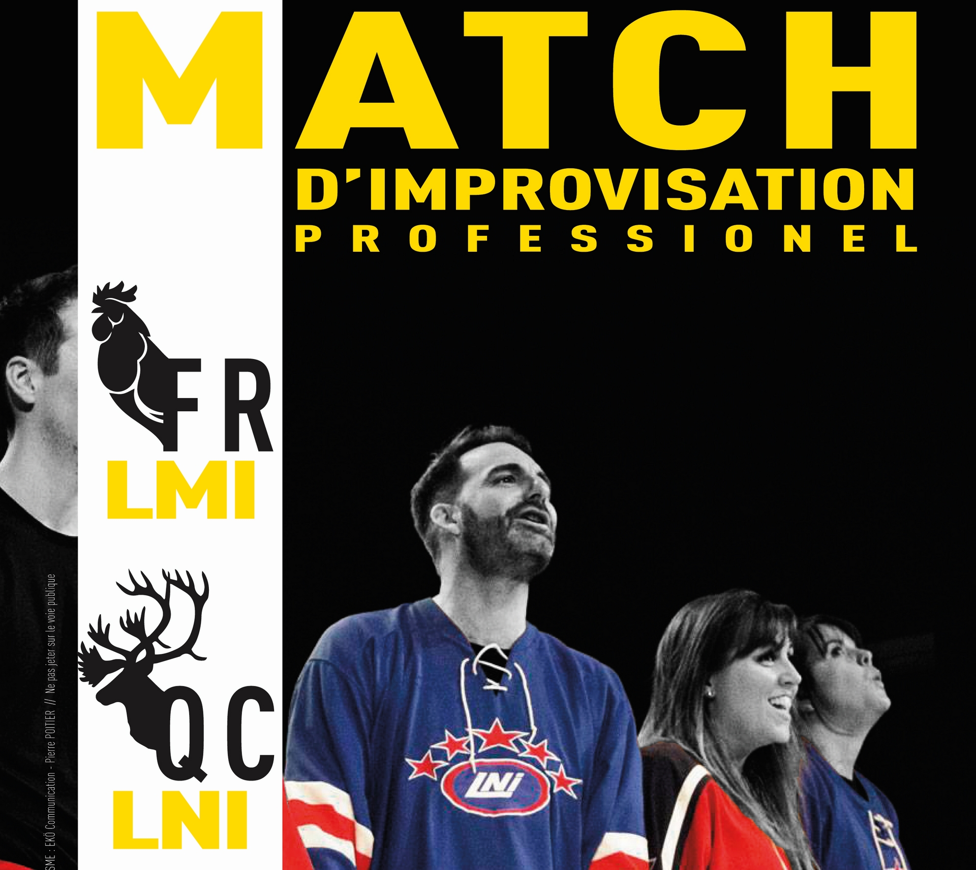 Spectacle : Match d'improvisation professionnel - ORTHEZ