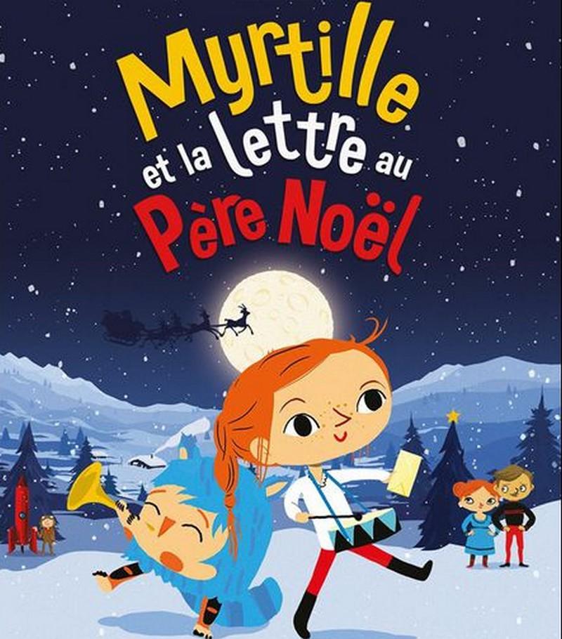 Ciné-Atelier des tout petits : Myrtille et la lettre au Père Noël - MONEIN