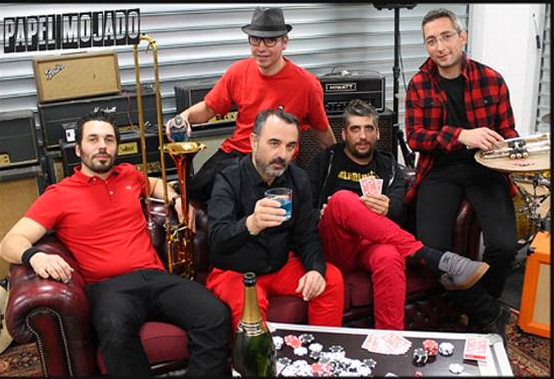 Terrasses en scène : Concert Papel Mojado - ARGAGNON