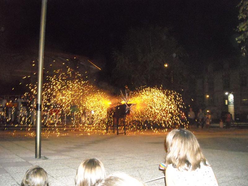 Retraite aux flambeaux et Toro de fuego - ORTHEZ