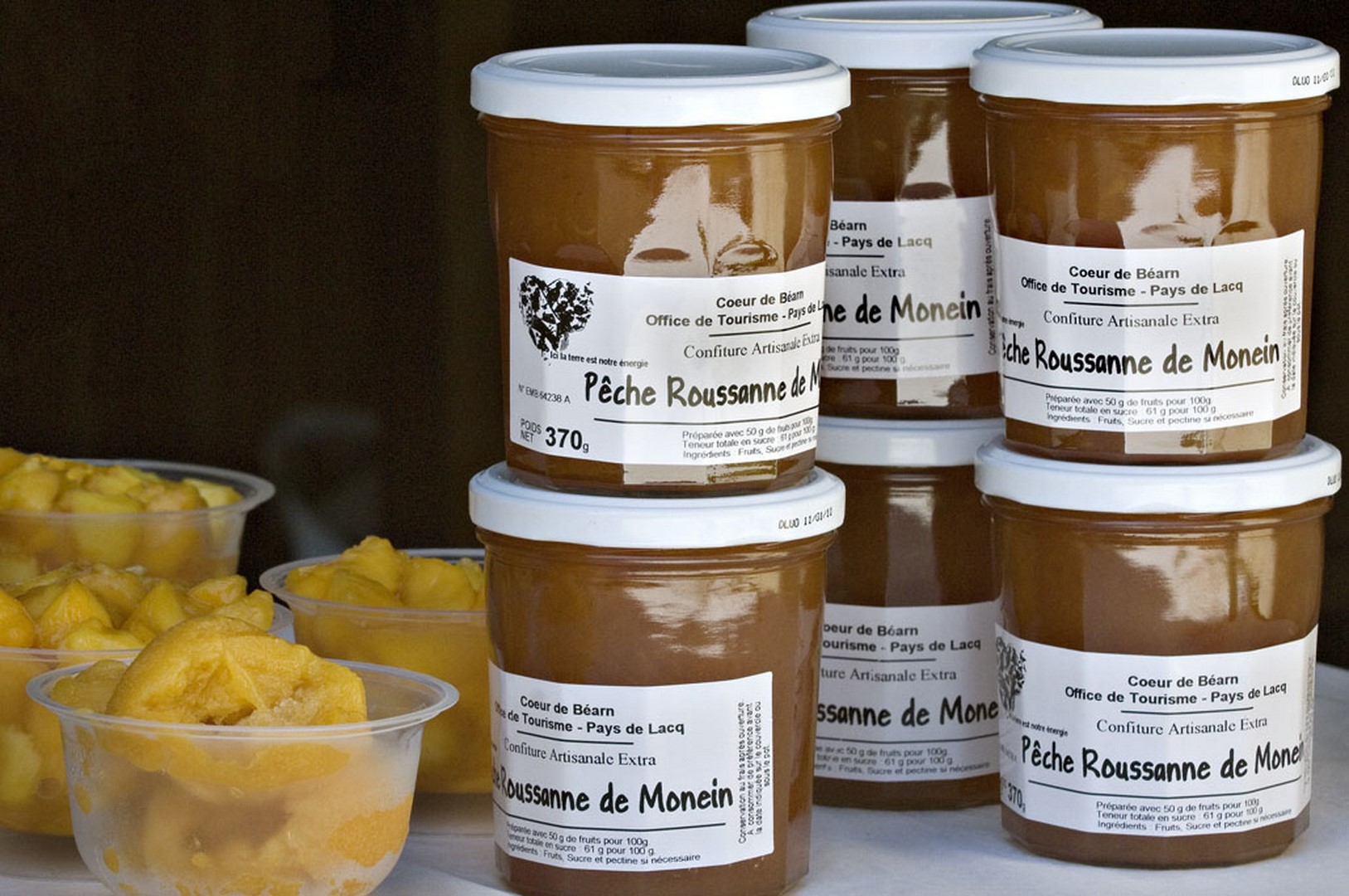 Marché de Producteurs de Pêche Roussanne - MONEIN