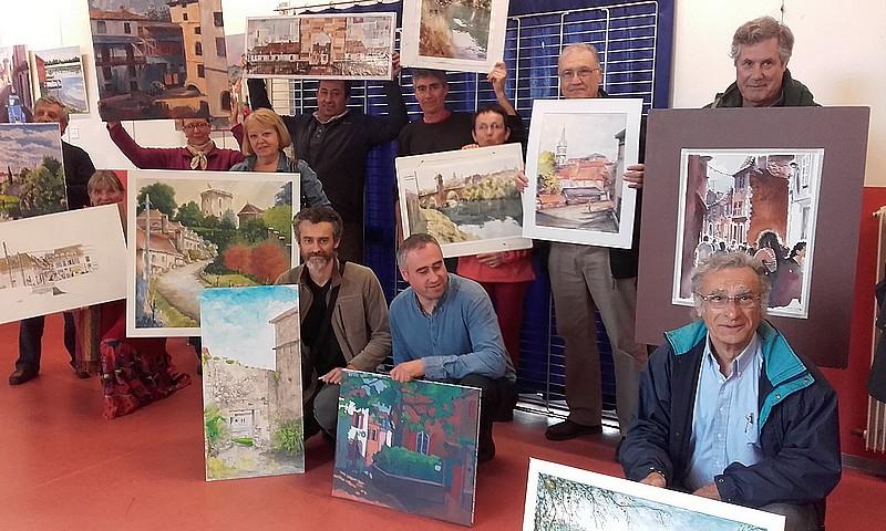 Peintres dans la cité : Concours de peinture - ORTHEZ