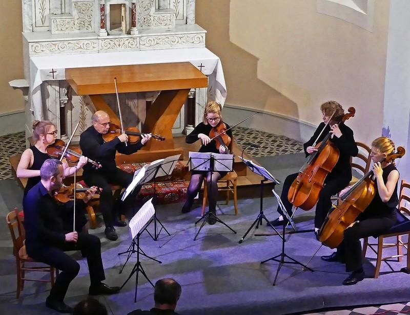 Partitions bucoliques - Concert : Quatuor et quintet à cordes - TARSACQ